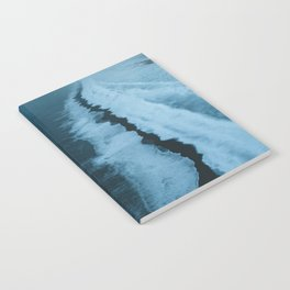Moody Black Sand Beach in Iceland - Landscape Photography Notebook