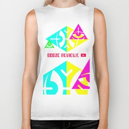 Sides of The Pyramid Biker Tank