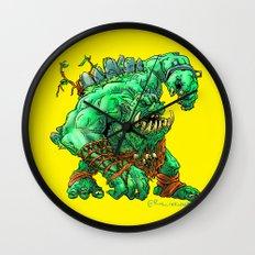 Straight Trollin' Wall Clock