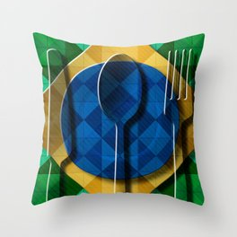 Copa & Cucina I Throw Pillow
