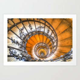 The Spiral Staircase Art Print