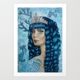 Water ~ Four elements series Art Print