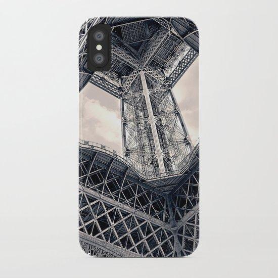 Eiffel Steel iPhone Case