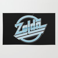 zelda Area & Throw Rugs featuring Zelda // Magna by Daniel Mackey