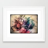 drum Framed Art Prints featuring Drum by Joanne Chen