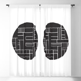 Circle E Blackout Curtain
