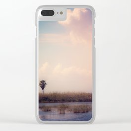 Island Heart Clear iPhone Case