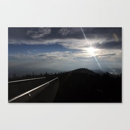 Great Smoky Mountains Clingmans Dome Canvas Print