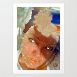 """""""selfie"""" Art Print"""