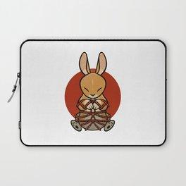 Rope Bunny Laptop Sleeve