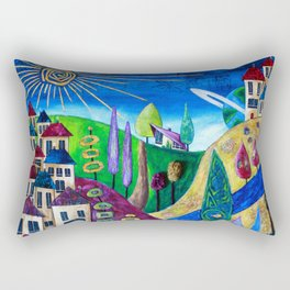 Delphi 4 Rectangular Pillow