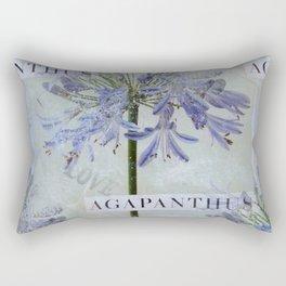 Agapanthus Rectangular Pillow