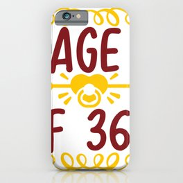 Page 1 Of 365 iPhone Case