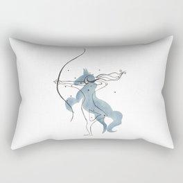 Sagittarius The Archer Rectangular Pillow