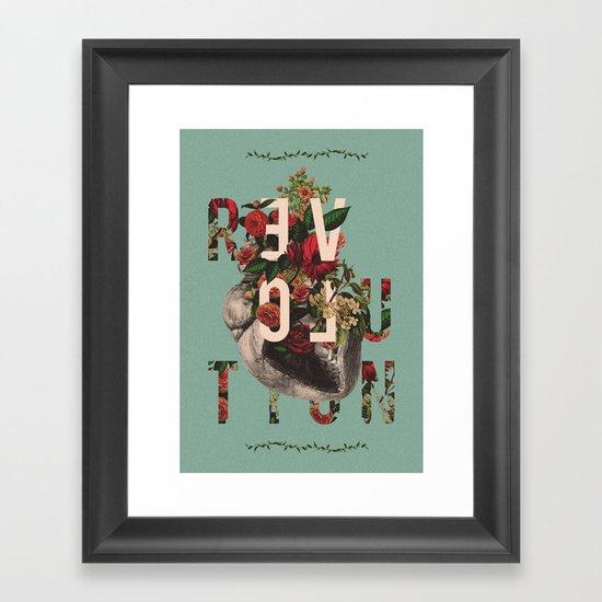Revolution Baby Framed Art Print