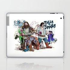 TALLS VS. SMALLS Laptop & iPad Skin