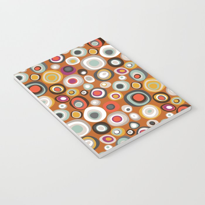 veneto boho spot amber Notebook
