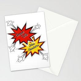 Omae Wa Mou Shindeiru - You're Already Dead - Funny Meme Stationery Cards