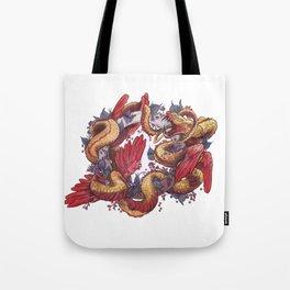 Ouroboros Tote Bag