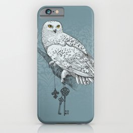 Secrets of the Snowy Owl iPhone Case