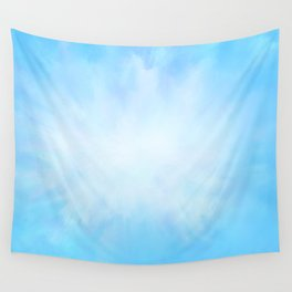 Bright Blue Skies Wall Tapestry