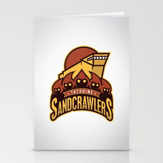 Tatooine SandCrawlers Stationery Cards