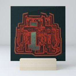Three's a Crowd Mini Art Print