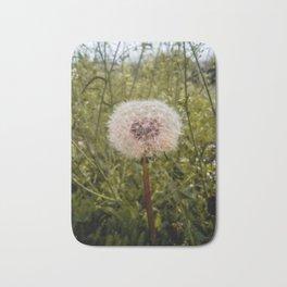 Dandelion spring flower Bath Mat