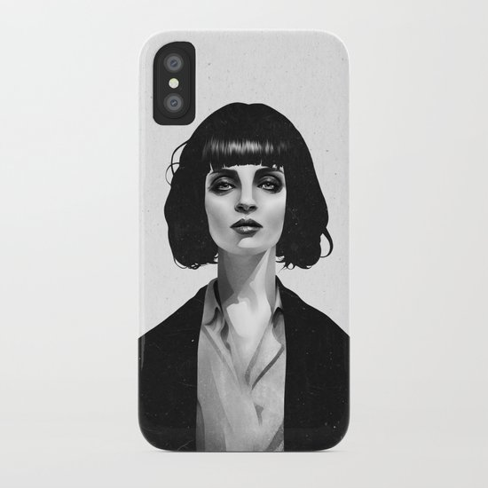 Mrs Mia Wallace iPhone Case
