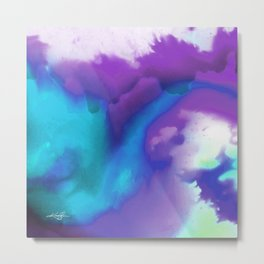 Abstract Bliss 1K by Kathy Morton Stanion Metal Print