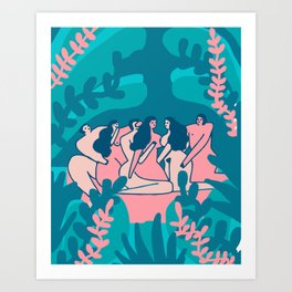 Mamacitas Club 5 Art Print