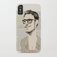 chad wys iPhone & iPod Cases featuring I´m hipster  by Cecilia Sánchez