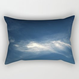 White mountains in the sky Rectangular Pillow