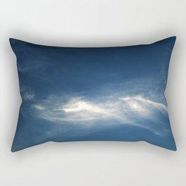 White mountains in the sky Rectangular Pillow