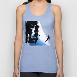 ON THE RUN Unisex Tank Top