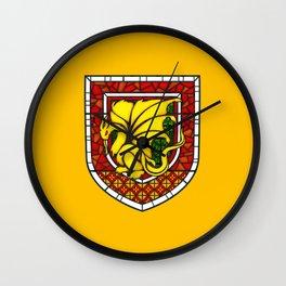 Merlin Pendragon Crest Wall Clock