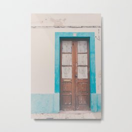 That door of yours Metal Print