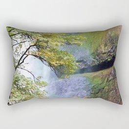 Multnomah Falls I Rectangular Pillow