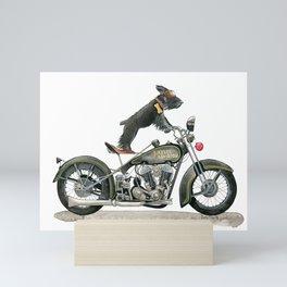 Ghost Rider Mini Art Print