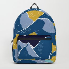 Say goodnight to the mountains Backpack