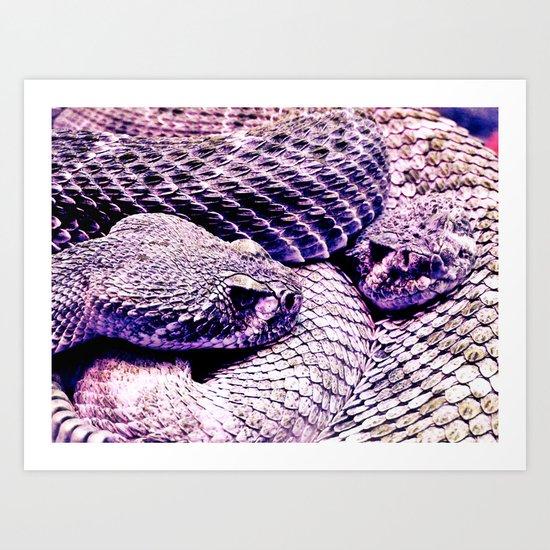 intertwined 2. Art Print