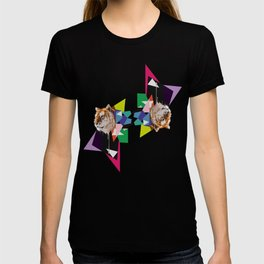 Tiger in abstraction T-shirt