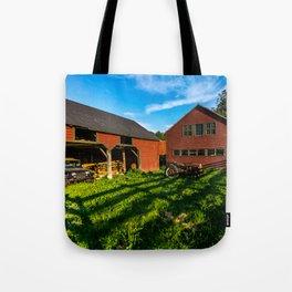 Jeep, Tractor & Barn Tote Bag