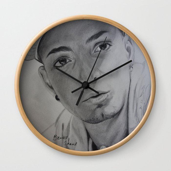 Omer Bhatti Wall Clock