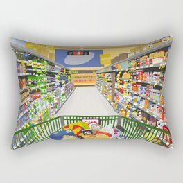A reason to love being alive Rectangular Pillow