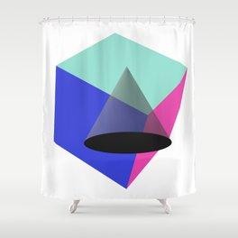 The Third Power Shower Curtain