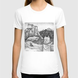 The Whale, The Castle & The Smoking Cat T-shirt