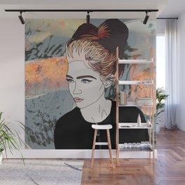 Grimes Digital Print Wall Mural
