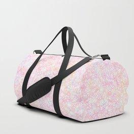 Colorful Modern Strings - Pearl Pastel Duffle Bag
