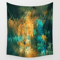 drums Wall Tapestries featuring Soul smoke by Alix Rumble